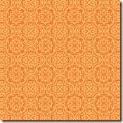 orange summer damask