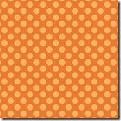 orange summer dot