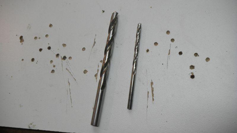 21 Drill bits