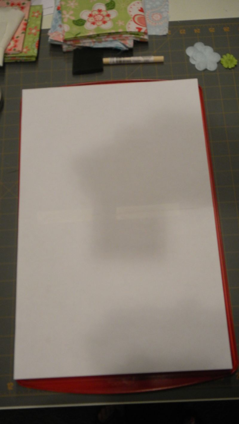 32 Paper large enough to cover sheet