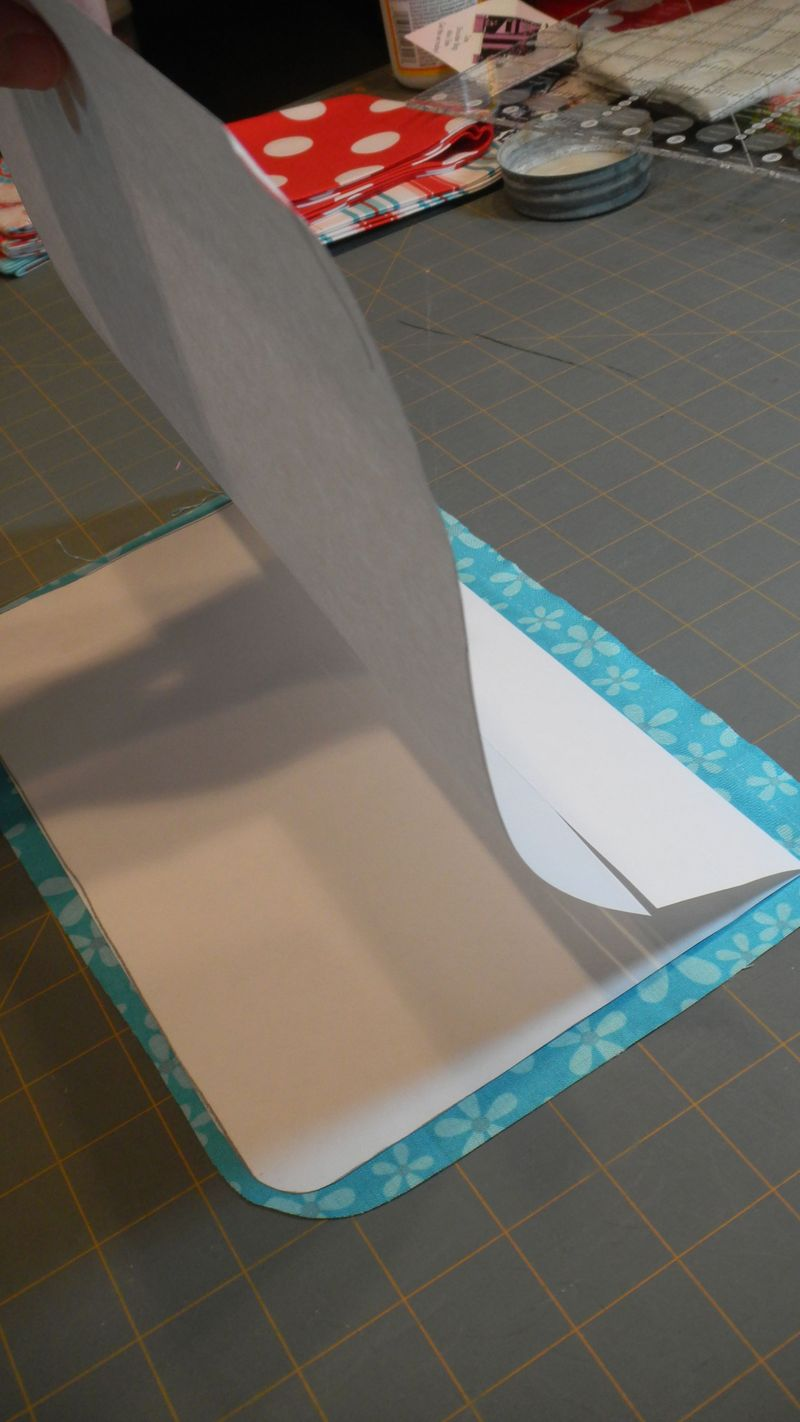 41 Fold pattern on seam line