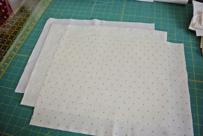 Front of pillow layers