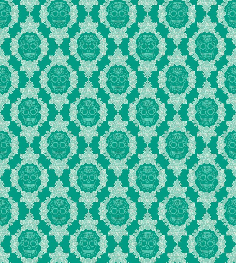 Skull-damask-turquoise-reduced